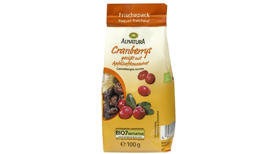 Alnatura Cranberries