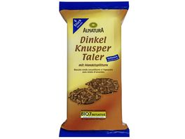 Alnatura Dinkel Knusper Taler Vollmilch