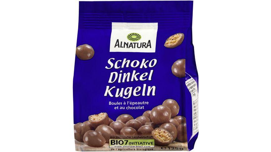 Alnatura Schoko Dinkel Kugeln Vollmilch