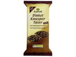 Alnatura Dinkel Knusper Taler Zartbitter