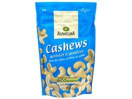 Alnatura Cashews geroestet gesalzen