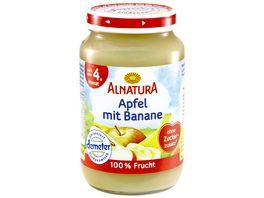 Alnatura Fruechtezubereitung Apfel mit Banane