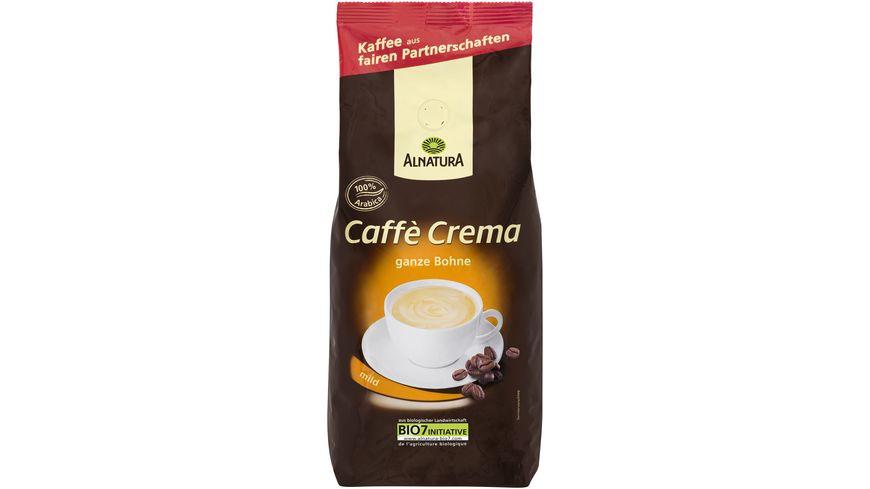 Alnatura Roestkaffee Caffe Crema ganze Bohne