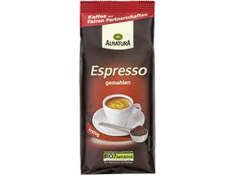 Alnatura Roestkaffee Espresso