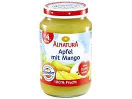 Alnatura Fruechtezubereitung Apfel mit Mango