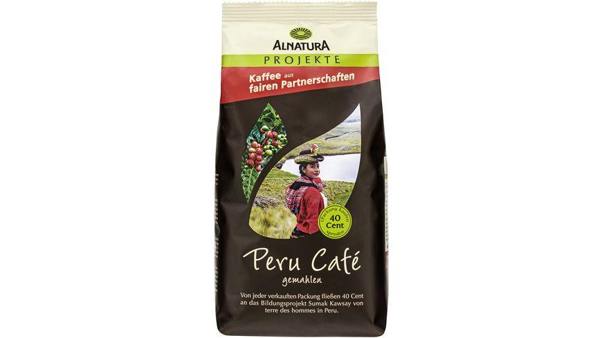 Alnatura Roestkaffee Peru Cafe