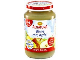 Alnatura Birne mit Apfel Baby 190G
