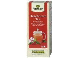 Alnatura Hagebutten Tee mit Hibiskus 20 Beutel