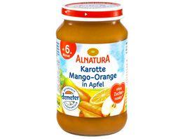 Alnatura Fruechtezubereitung Karotte Apfel Mango Orange