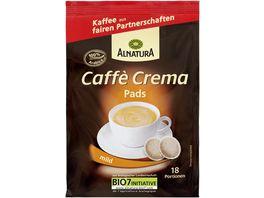 Alnatura Roestkaffee Caffe Crema Pads