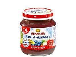 Alnatura Fruechtezubereitung Apfel Heidelbeere