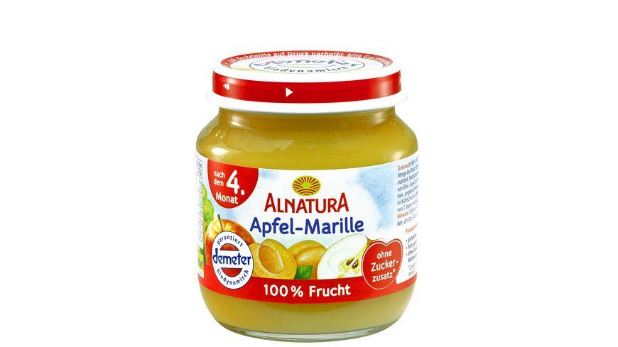 Alnatura Fruechtezubereitung Apfel Marille