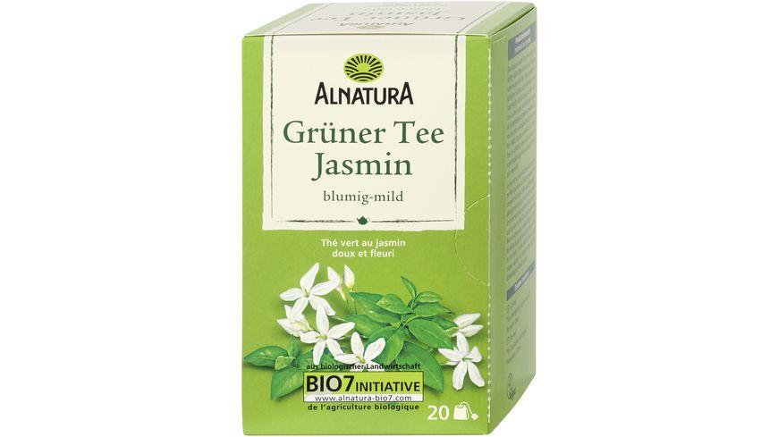 Alnatura Grüner Tee Jasmin 20 Beutel