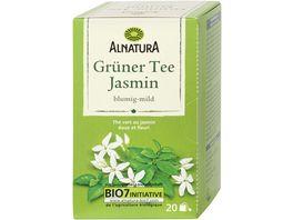 Alnatura Gruener Tee Jasmin 20 Beutel