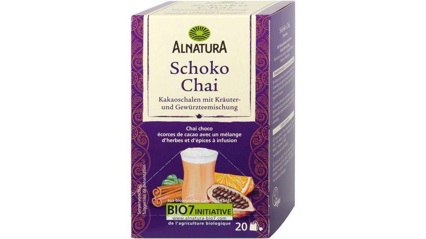Alnatura Schoko Chai 20 Beutel