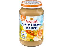 Alnatura Fruechtezubereitung Apfel mit Banane und Hirse