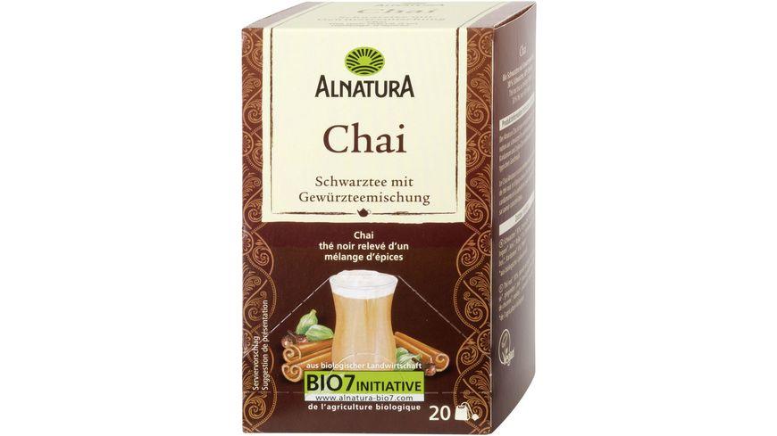 Alnatura Chai 20 Beutel