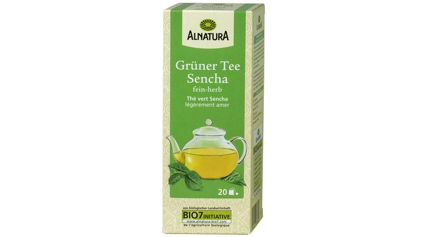 Alnatura Grüner Tee Sencha 20 Beutel