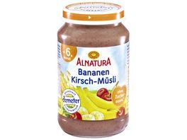 Alnatura Fruechtezubereitung Bananen Kirsch Muesli