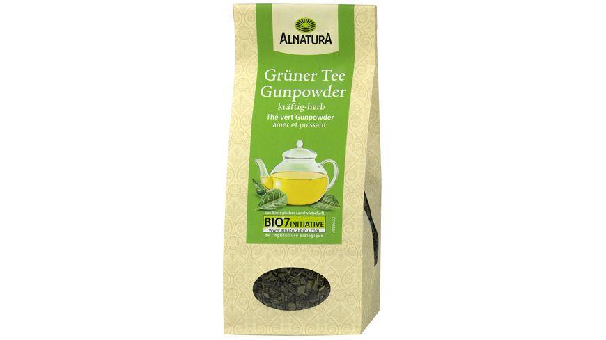 Alnatura Gruener Tee Gunpowder lose