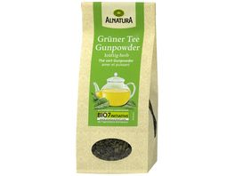 Alnatura Gruener Tee Gunpowder lose