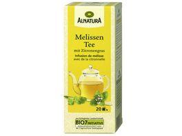 Alnatura Melissen Tee mit Zitrone 20 Beutel