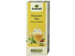 Alnatura Kraeuter Tee 20 Beutel