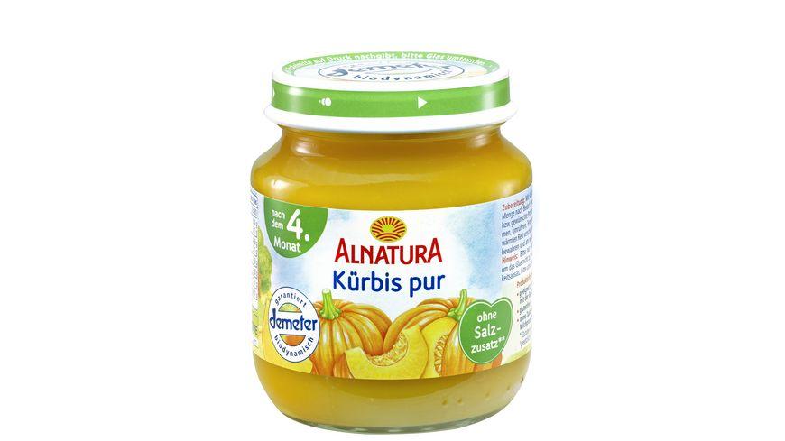 Alnatura Kürbis pur, 125g (nach 4. Mon.)