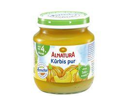 Alnatura Kuerbis pur 125g nach 4 Mon