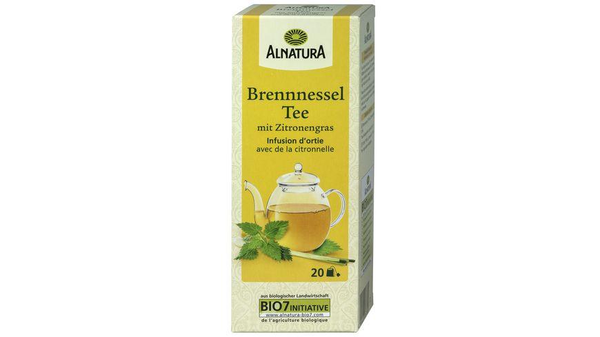 Alnatura Brennnessel Tee mit Zitrone 20 Beutel