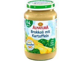 Alnatura Brokkoli mit Kartoffeln Baby 190G