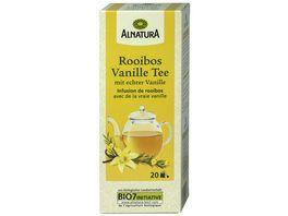 Alnatura Rooibos Vanille Tee 20 Beutel