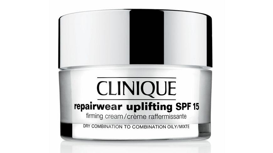 Clinique Repairwear Uplifting SPF 15 Firming Cream Mischhaut bis oelige Haut
