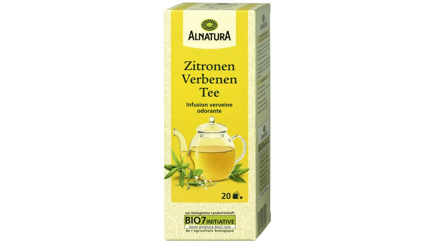 Alnatura Zitronenverbene Tee 20 Beutel