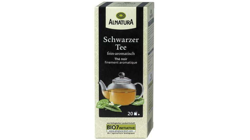 Alnatura Schwarzer Tee 20 Beutel