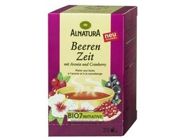 Alnatura Beeren Zeit Tee 20 Beutel