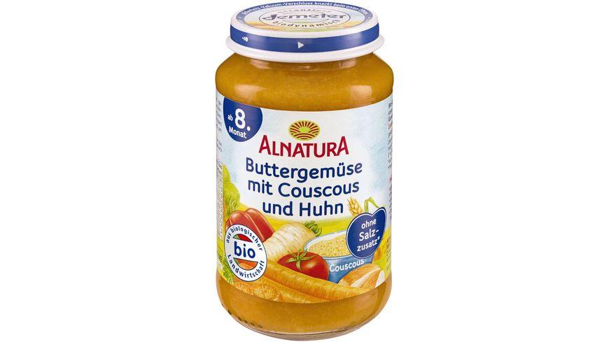 Alnatura Buttergemuese Couscous Huhn