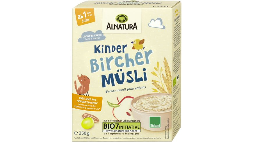 Alnatura Kinder Bircher Muesli