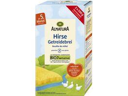 Alnatura Hirse Getreidebrei Baby 400G