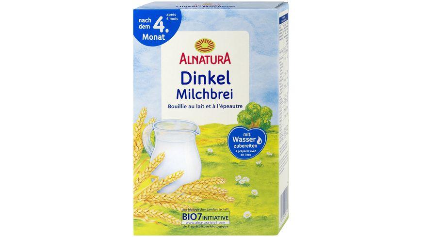 Alnatura Milchbrei Dinkel