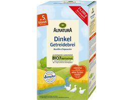 Alnatura Dinkel Getreidebrei Baby 400G