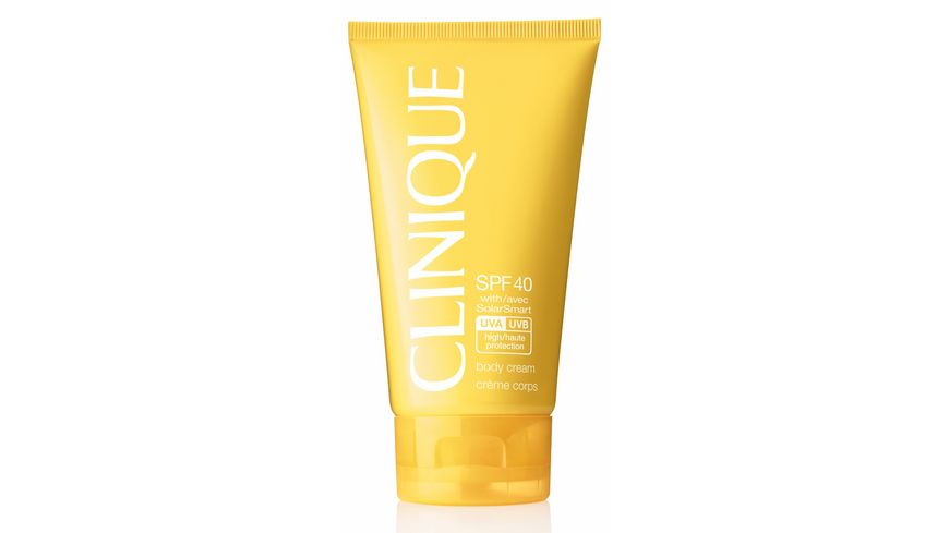 Clinique SPF 40 Body Cream