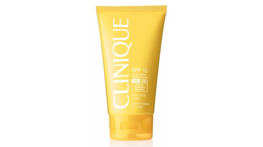 Clinique SPF 15 Face and Body Cream