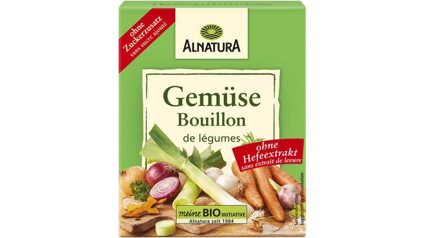 Alnatura Bio Gemüsebrühwürfel mit 13,4 % getrocknetem und gemahlenem Gemüse