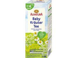 Alnatura Baby Kraeuter Tee 20 Beutel
