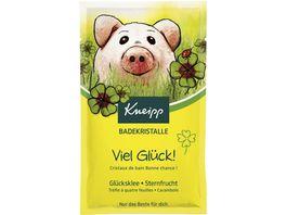 Kneipp Badekristalle Viel Glueck