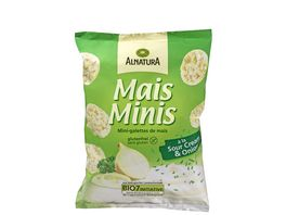 Alnatura Mais Minis a la Sour Cream Onion