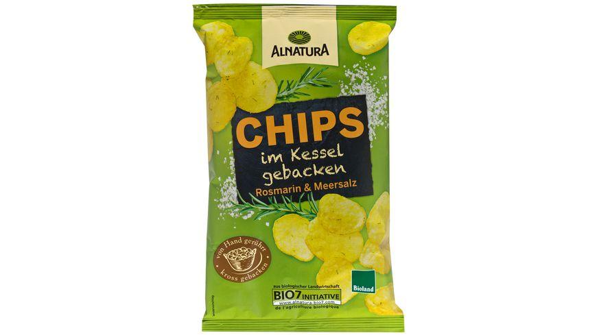 Alnatura Chips im Kessel gebacken Rosmarin