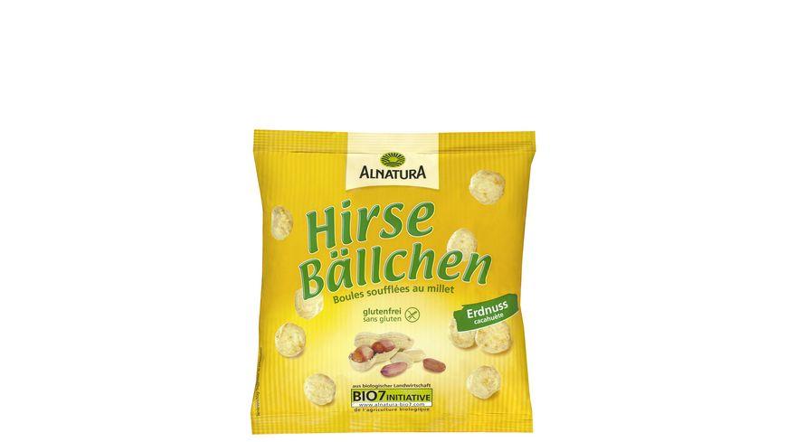 Alnatura Hirsebaellchen Erdnuss