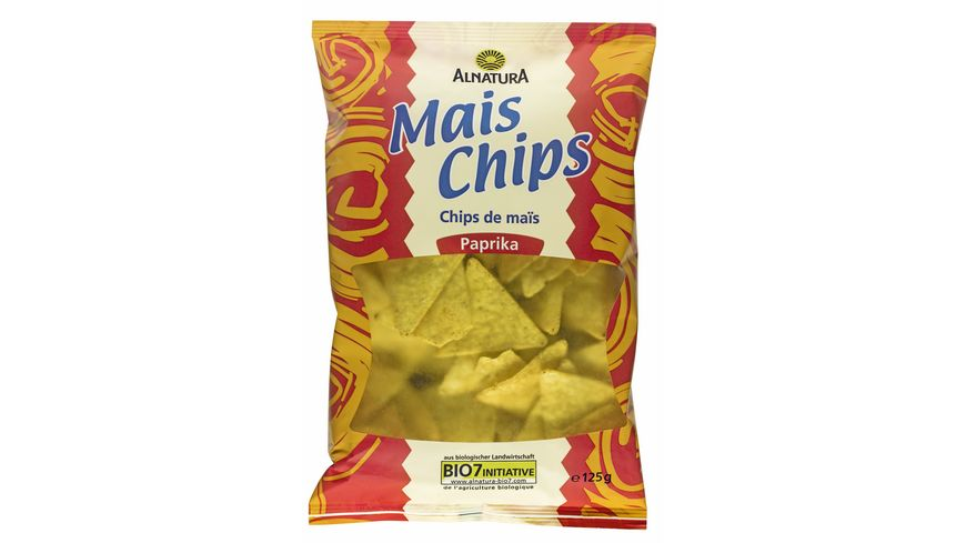 Alnatura Mais Chips Paprika